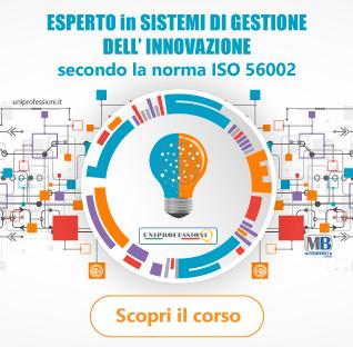 Scopri il corso completo su ISO 56002 Esperto in Sistemi di Gestione dell'Innovazione