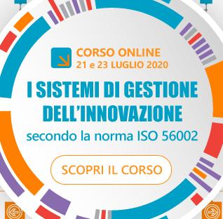 Scopri il corso su ISO 56002 Sistemi di Gestione dell'Innovazione
